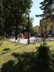 ogród edukacyjno-sensoryczny przy Miejskim Domu Kultury w Czechowicach-Dziedzicach