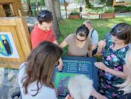 ogród edukacyjno-sensoryczny w Czechowicach-Dziedzicach