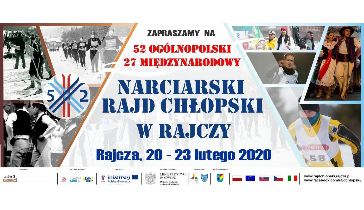 Narciarski Rajd Chłopski w Rajczy - zapraszamy!